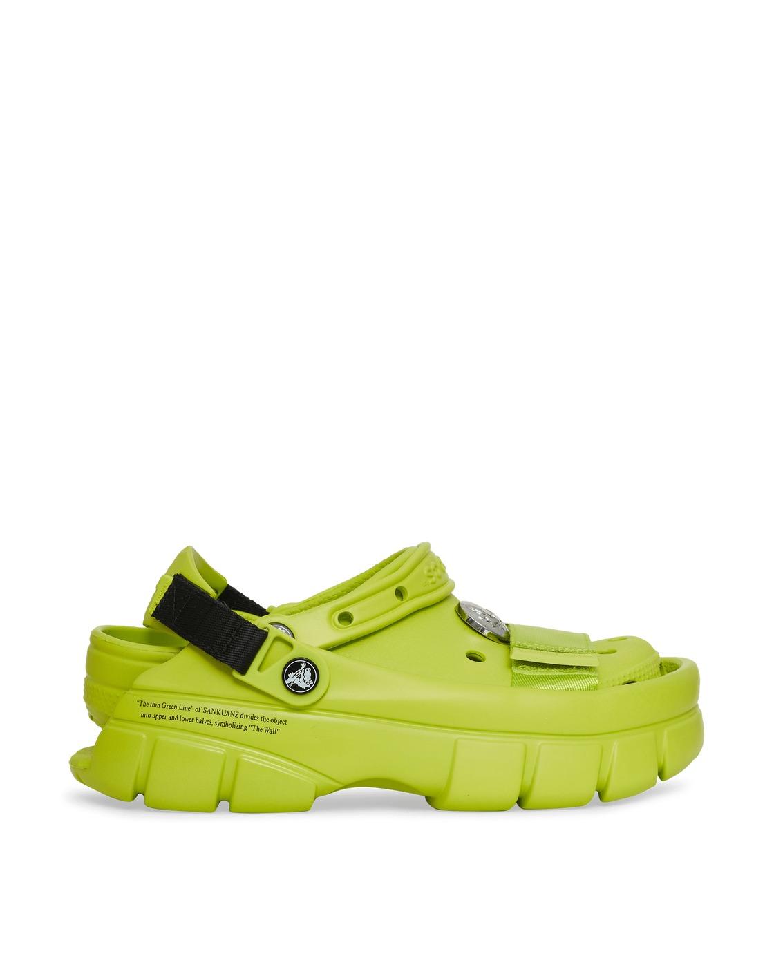 Crocs Sankuanz Classic Clogs Lime Punch
