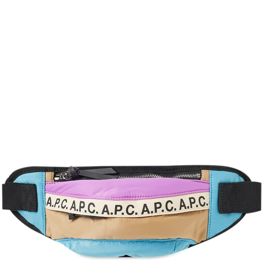 Photo: A.P.C. Lucille Tape Logo Waist Bag