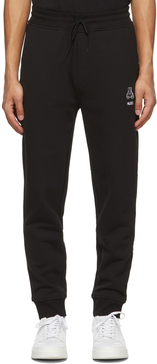 Hugo Black Dakytori Lounge Pants