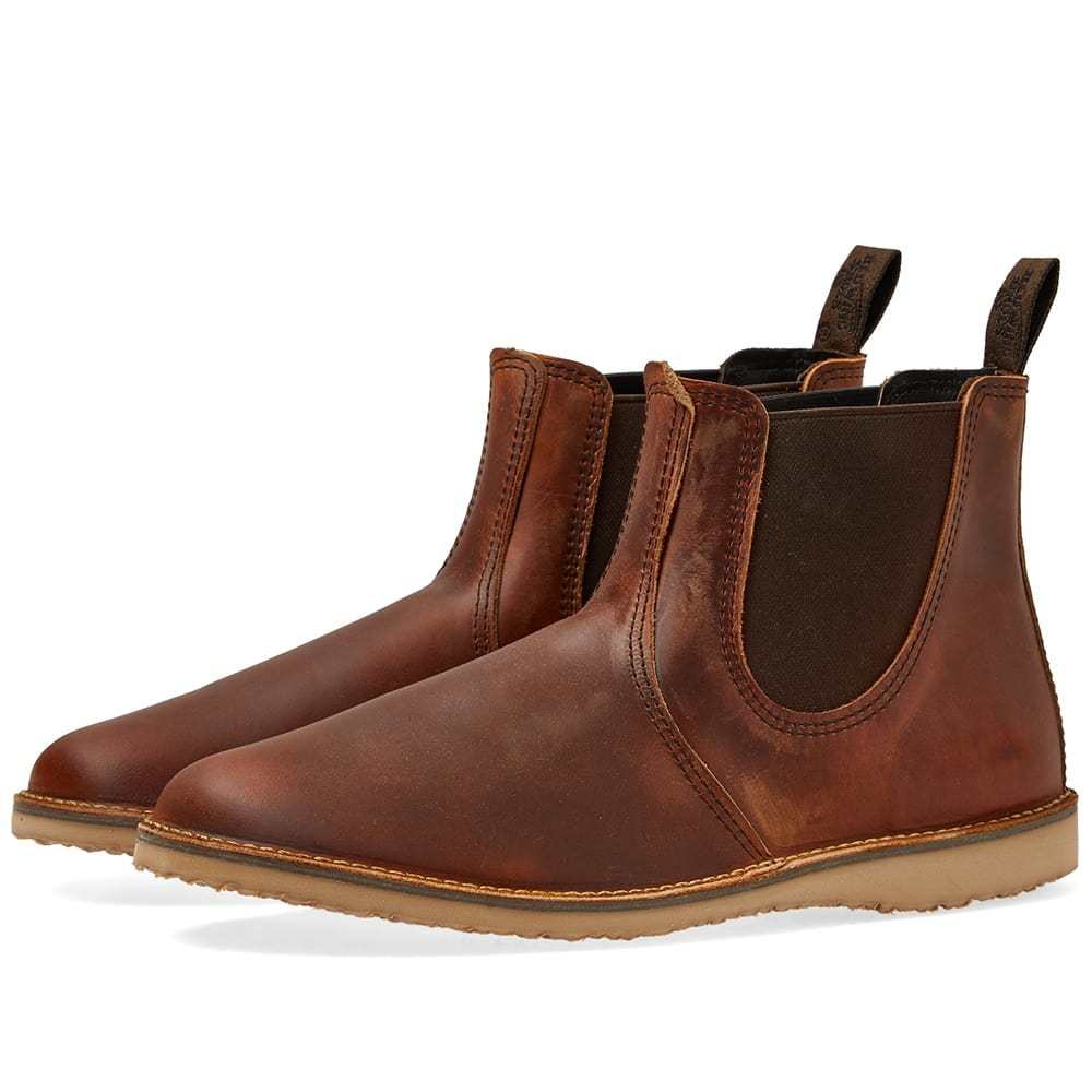 Photo: Red Wing Weekender Chelsea Boot Copper Rough & Tough