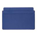 Smythson Blue Panama Card Holder