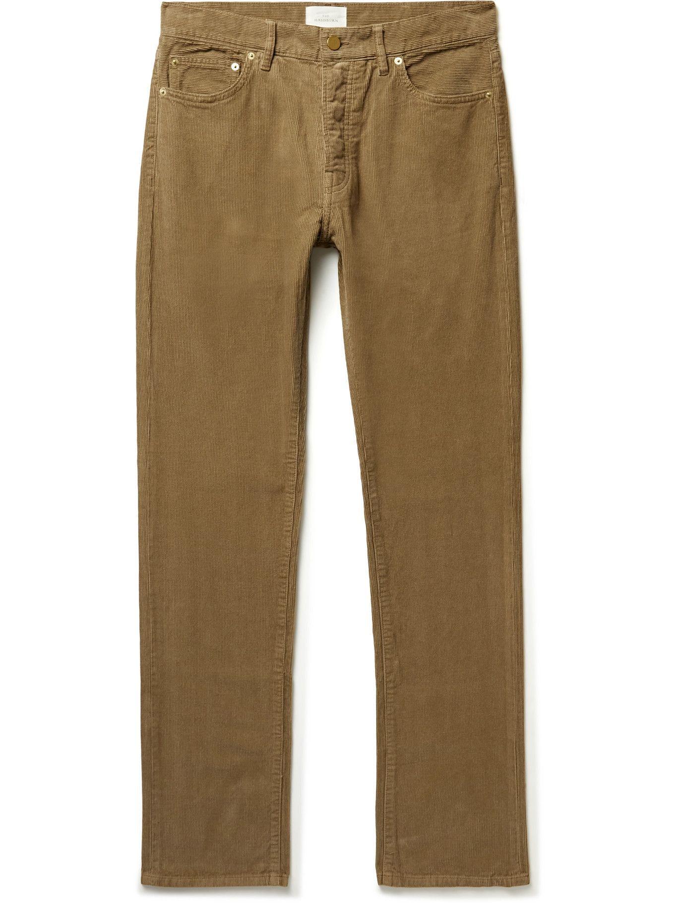 Photo: Sid Mashburn - Garment-Dyed Cotton-Corduroy Trousers - Neutrals