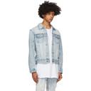 Ksubi Blue Classic Denim Jacket