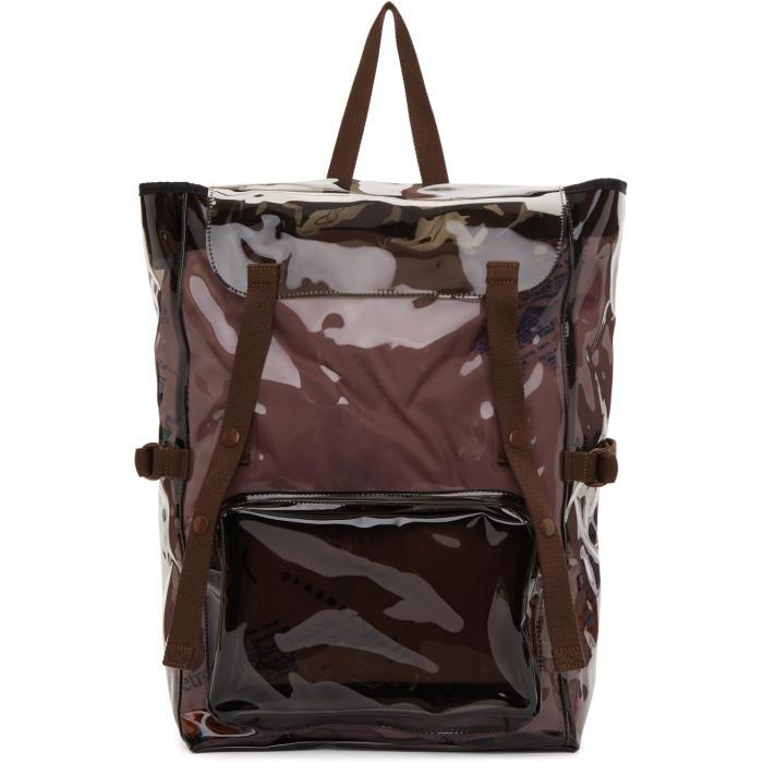 Raf Simons Grey Eastpak Edition Volume Topload Backpack