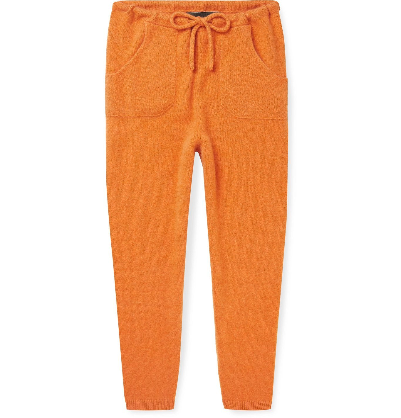 The Elder Statesman - Cashmere Sweatpants - Orange