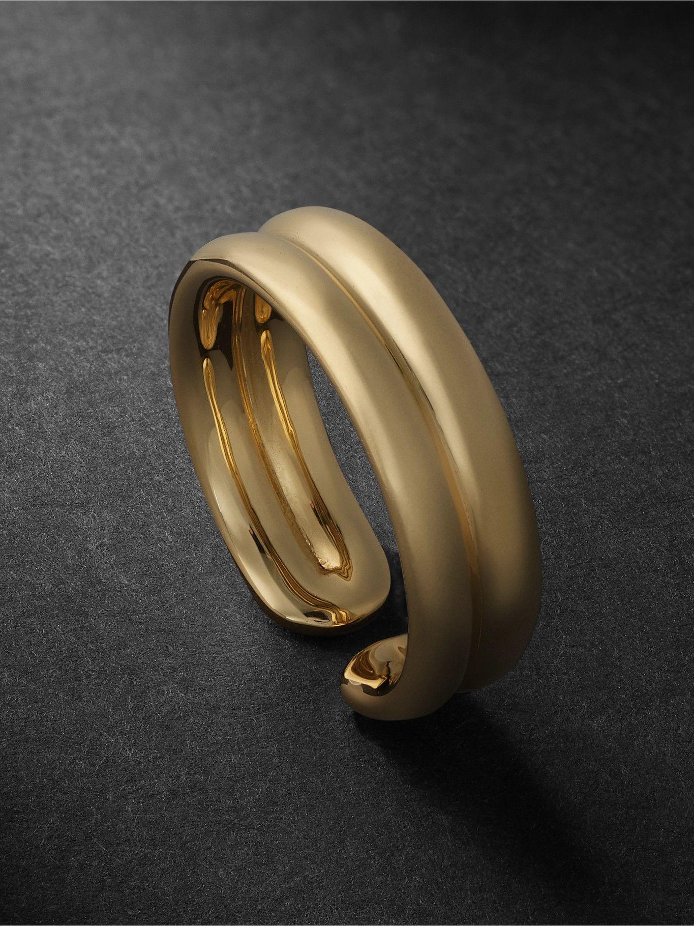 Photo: Fernando Jorge - Doubled 18-Karat Gold Ring - Gold