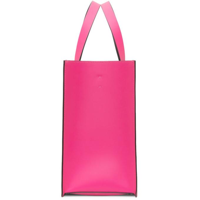 Valentino Pink Valentino Garavani Small VLogo Shopper Tote
