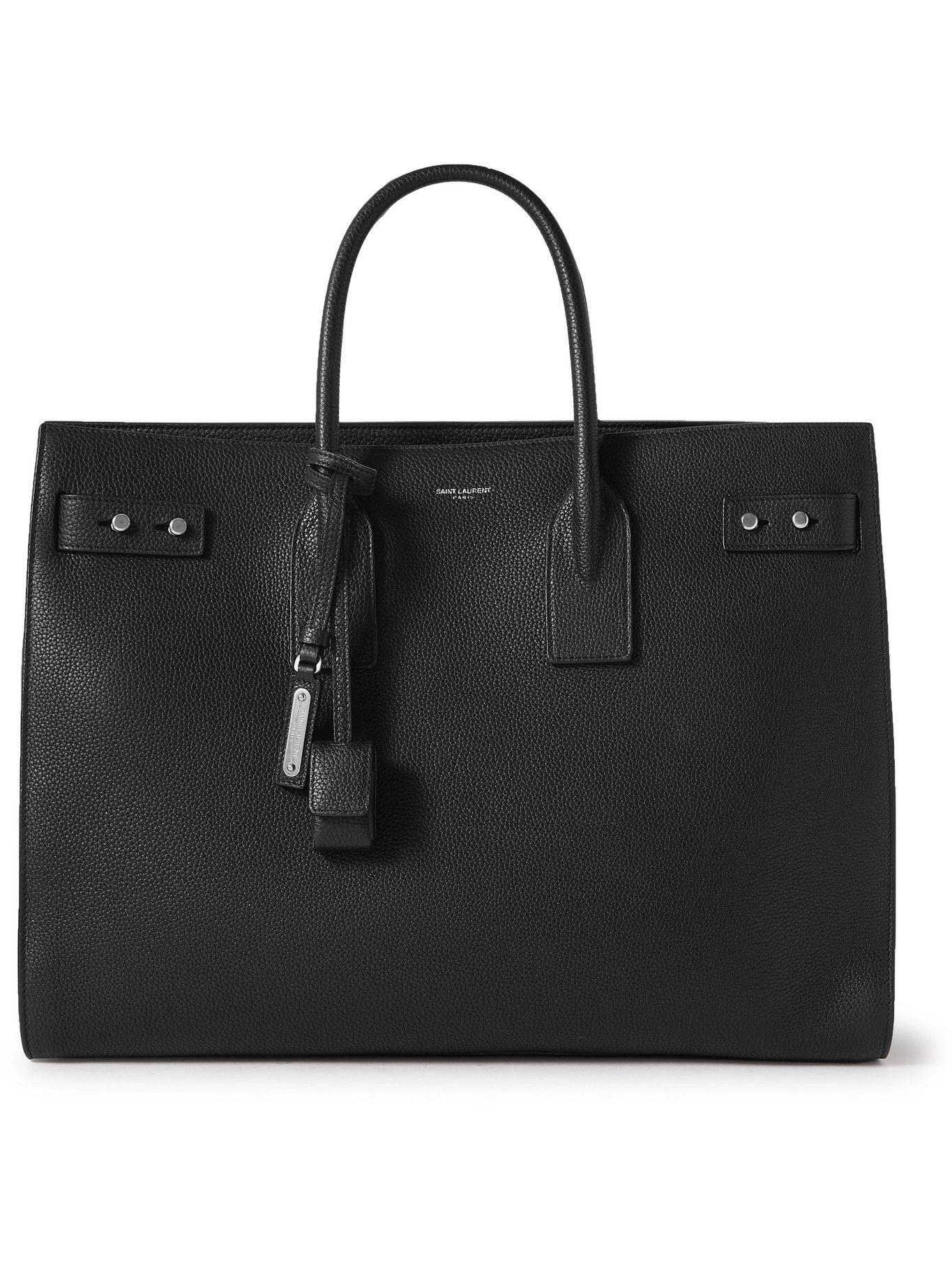 Photo: SAINT LAURENT - Sac de Jour Large Full-Grain Leather Tote Bag
