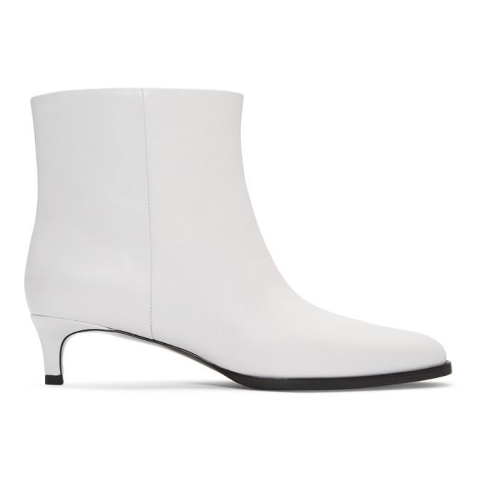 3.1 Phillip Lim White Agatha Ankle Boots