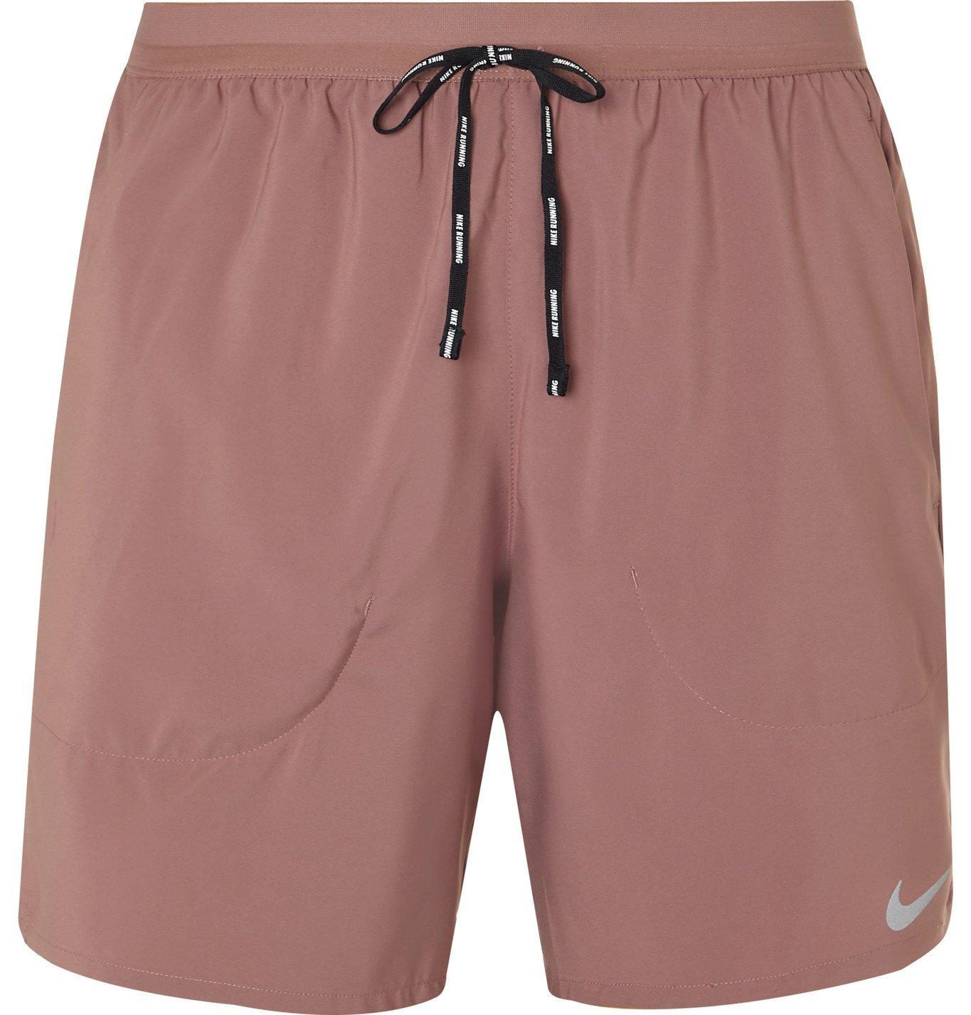 Photo: Nike Running - Flex Stride Dri-FIT Shorts - Pink