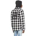 Ksubi Black and White Quilted Dub Shirt
