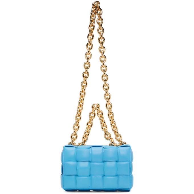 Photo: Bottega Veneta Blue The Chain Cassette Bag