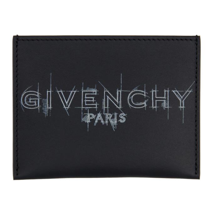 Photo: Givenchy Black Logo Card Holder