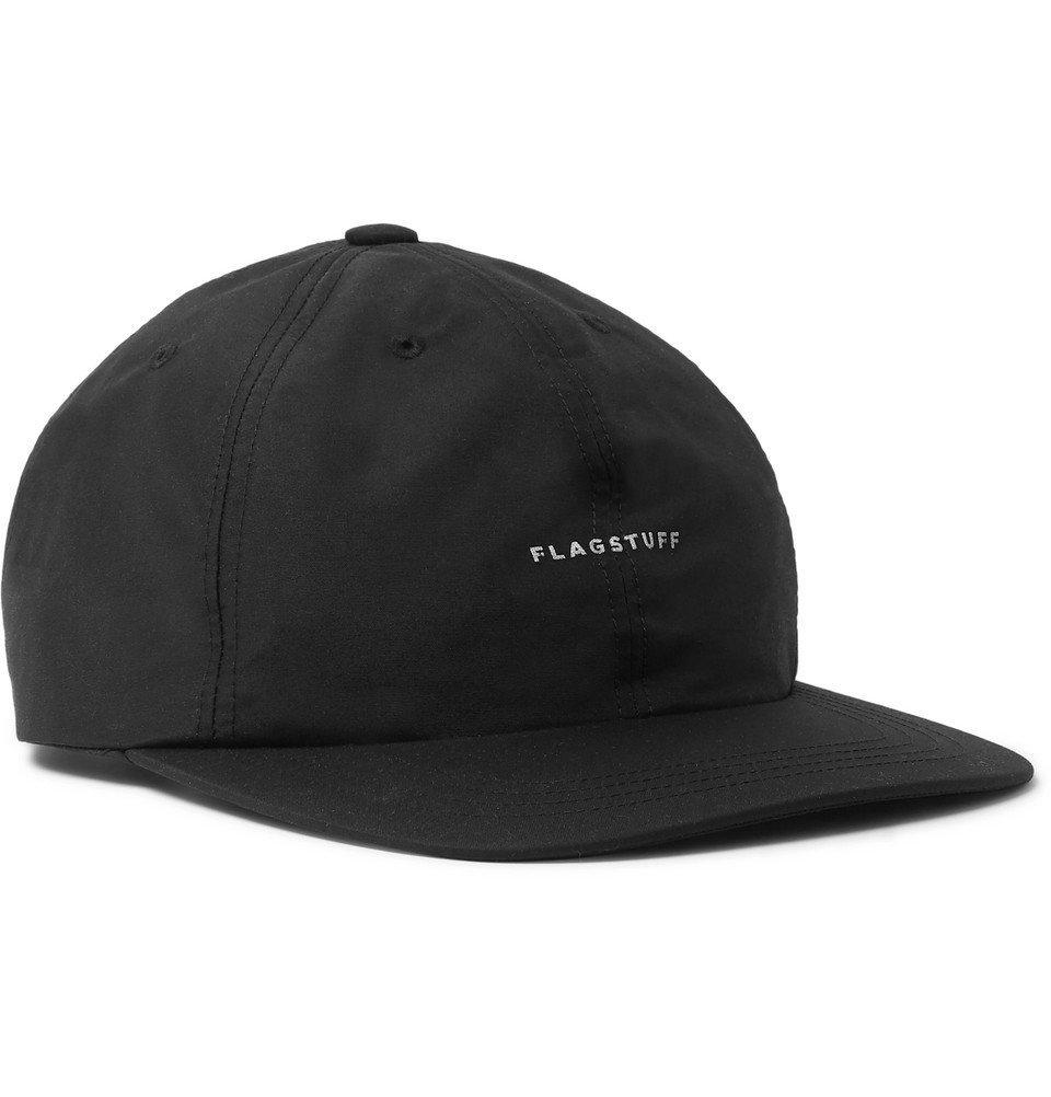 Photo: Flagstuff - Reflective-Logo Matte-Shell Baseball Cap - Black