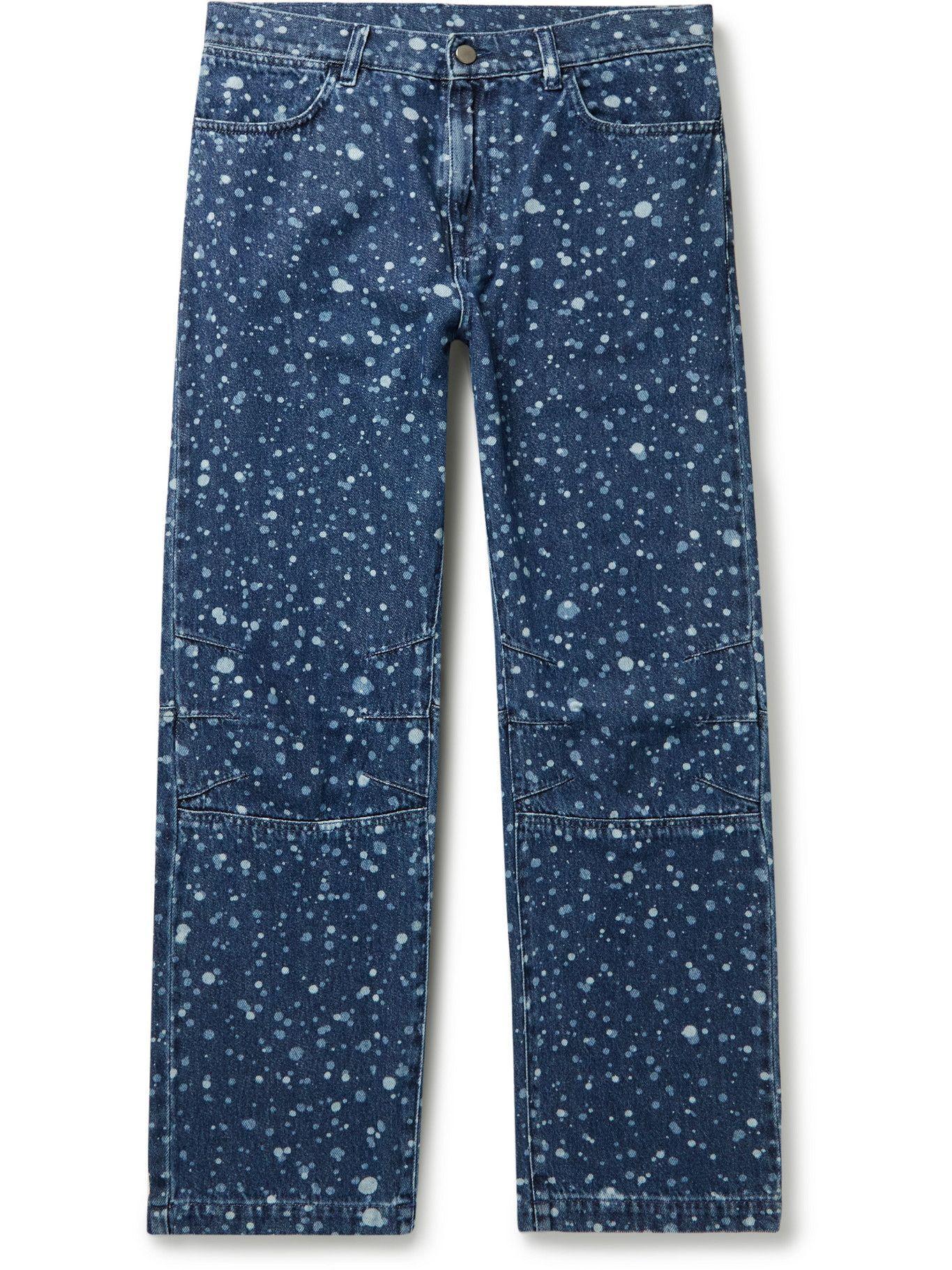 Photo: MCQ - Jack Bleached Jeans - Blue