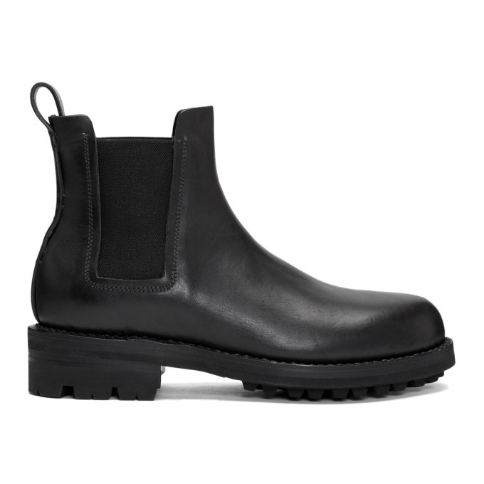 Photo: Feit Black Hand Sewn Chelsea Boots