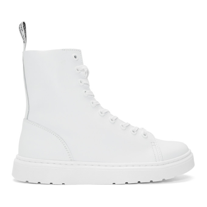Photo: Dr. Martens White Zaniel Boots
