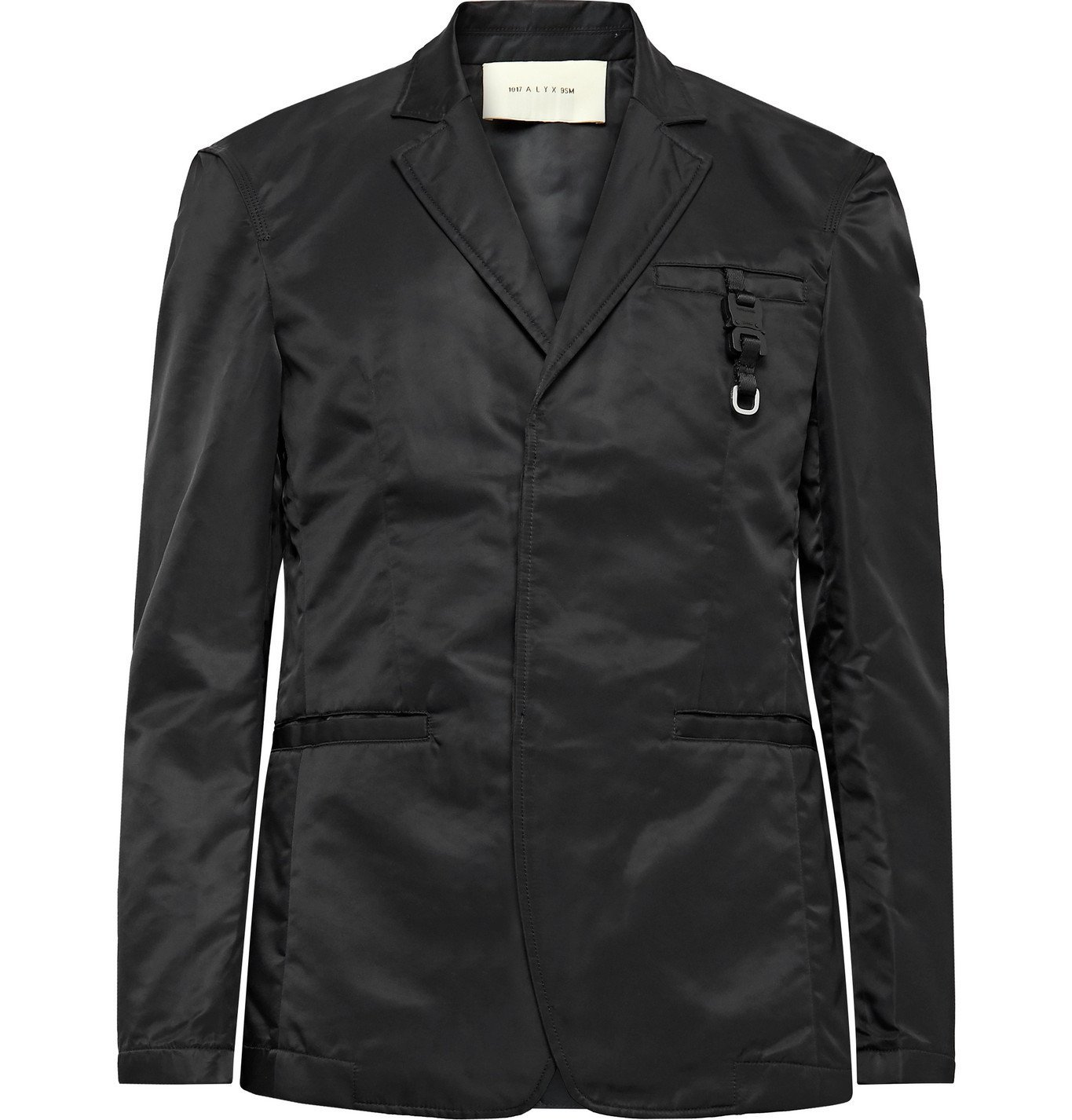 Photo: 1017 ALYX 9SM - Slim-Fit Nylon Blazer - Black