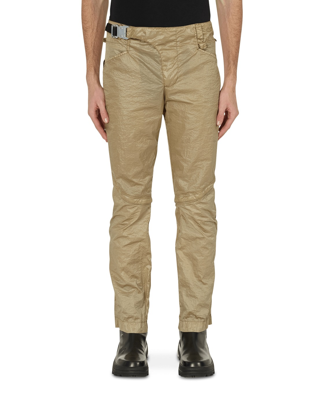 Photo: 1017 Alyx 9sm Crescent Zip Trousers Dark Tan