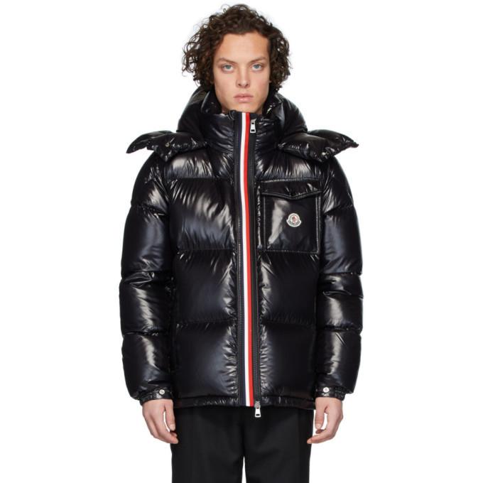 Moncler Black Down Montbeliard Jacket
