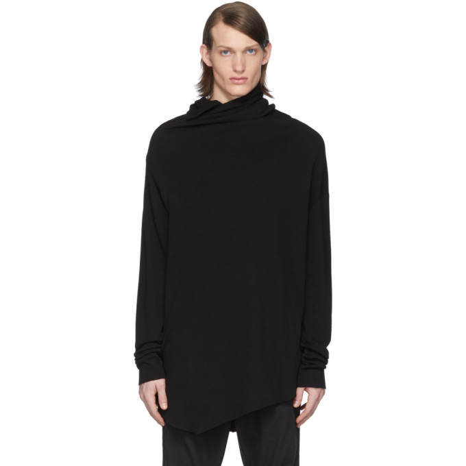 Photo: Julius SSESNE Exclusive Black Drape Turtleneck