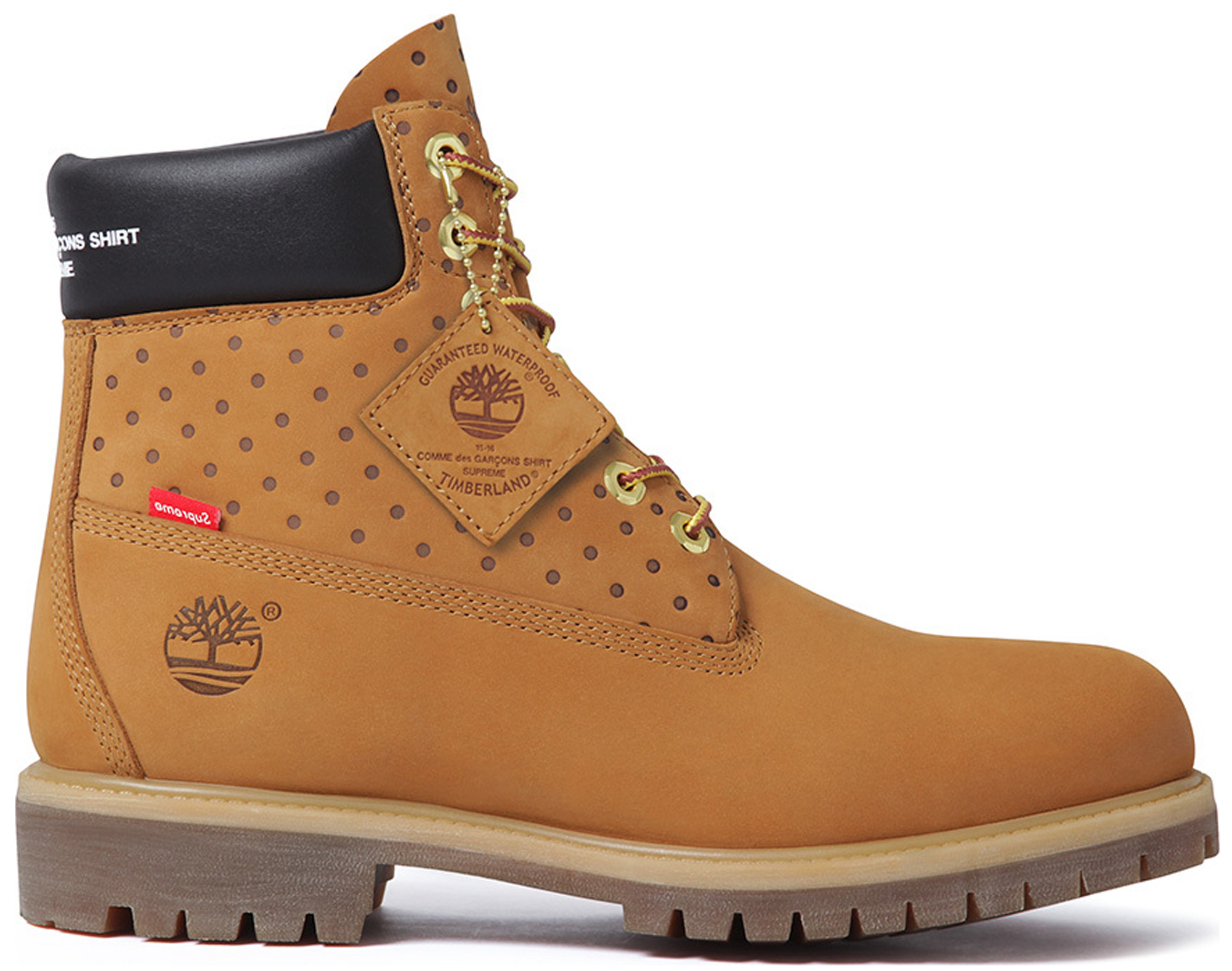 "Photo: Timberland 6"" Boot Supreme x Comme des Garcons Wheat"