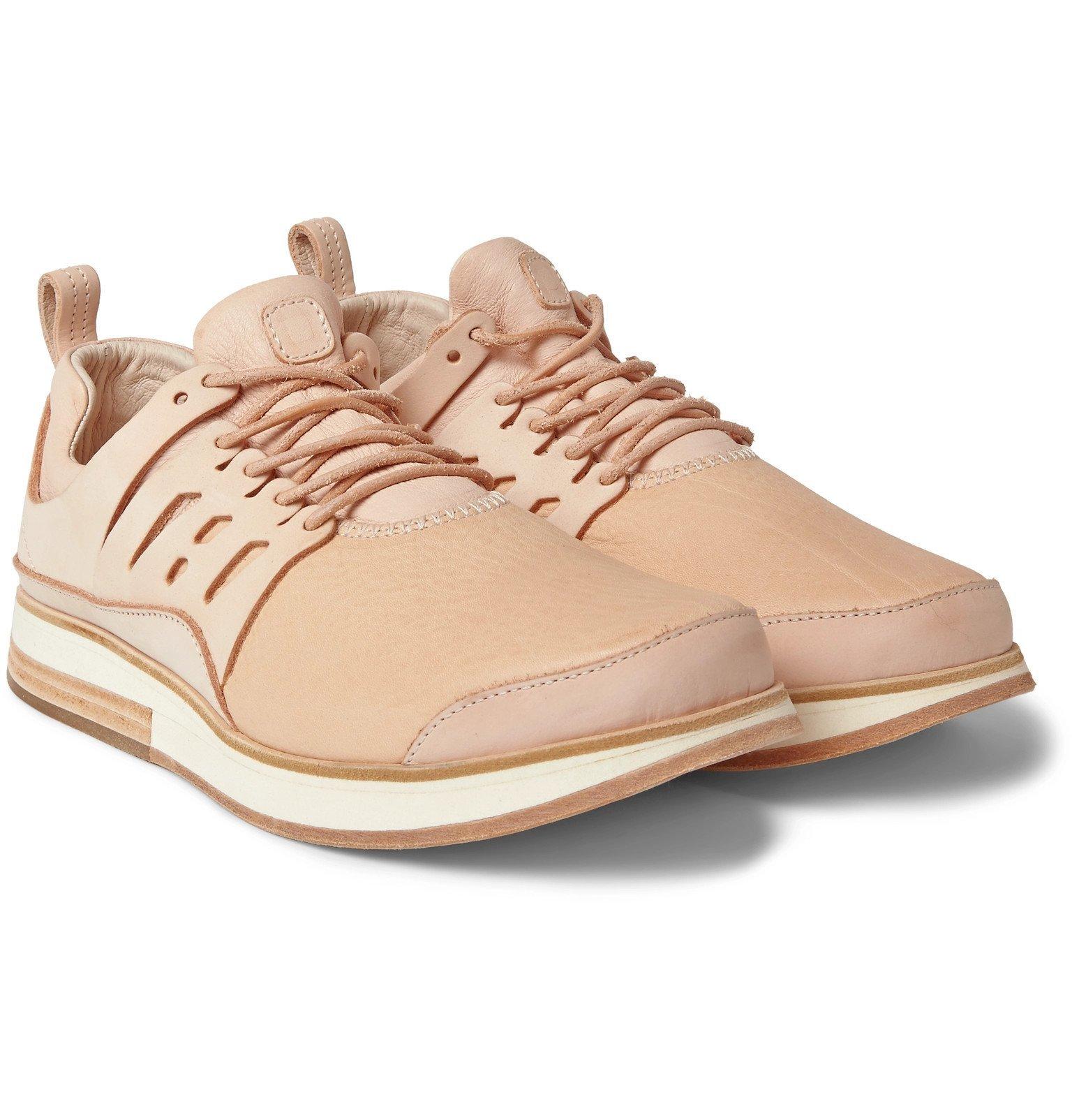 Photo: Hender Scheme - MIP-12 Leather Sneakers - Pink