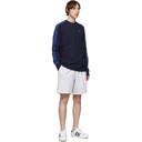 adidas Originals Navy 3-Stripes Long Sleeve T-Shirt