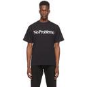 Aries Black No Problemo T-Shirt