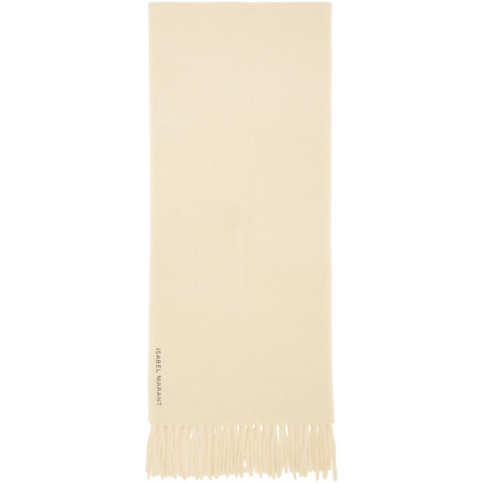 Photo: Isabel Marant Beige Firna Scarf