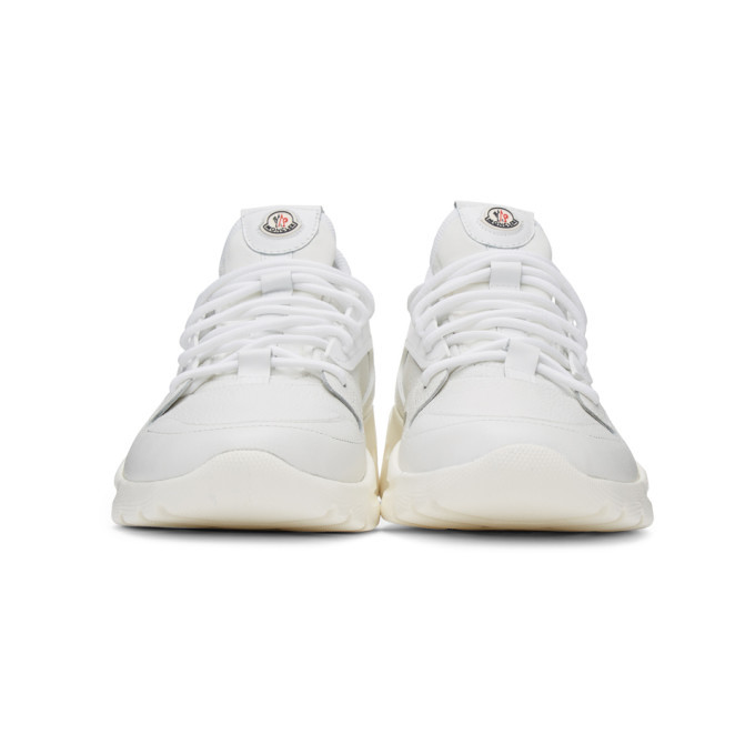 Moncler White Anakin Sneakers