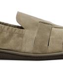 Giorgio Armani Beige Perforated Loafers