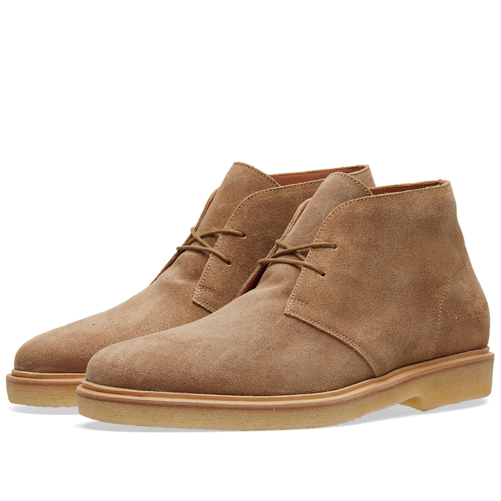 Common Projects Chukka Waxed Suede