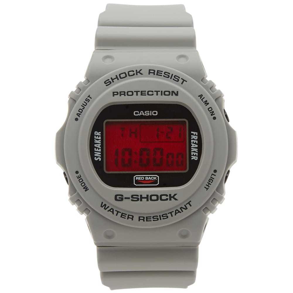 Photo: Casio G-Shock x Sneaker Freaker x Stance DW-5700SF-1ER Redback Watch