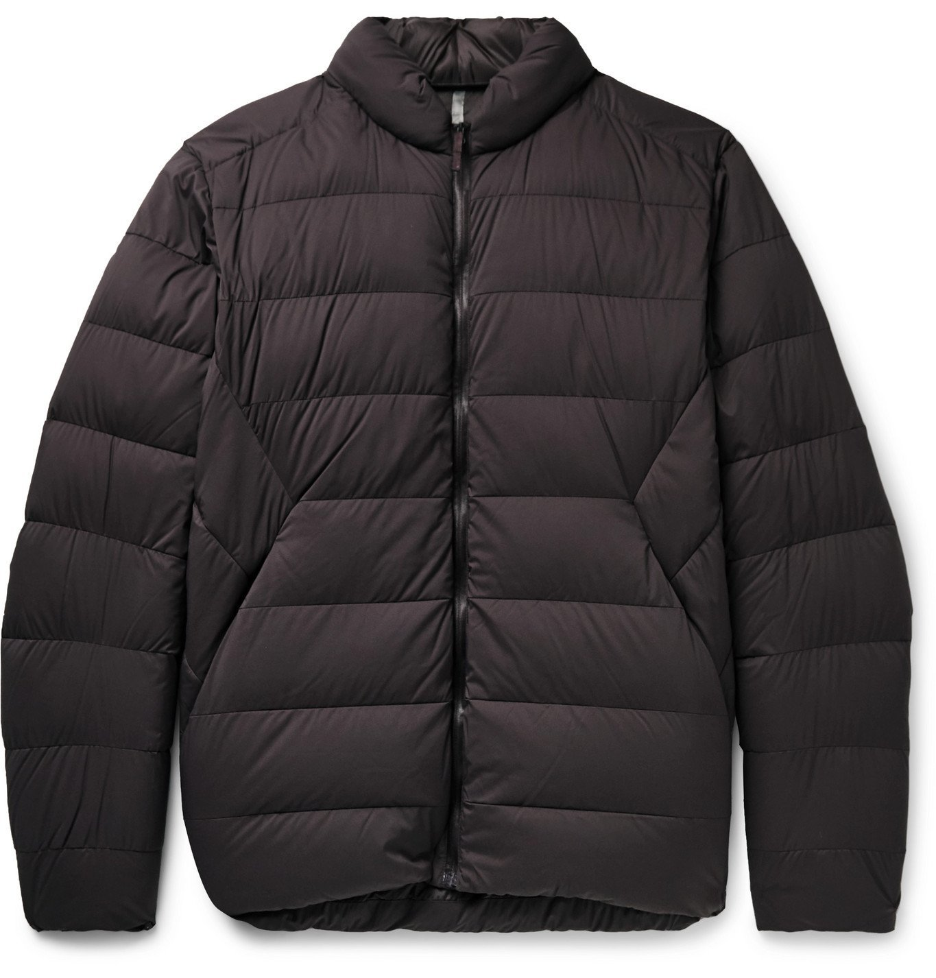 Photo: Veilance - Conduit AR Quilted Nylon-Ripstop Down Jacket - Purple