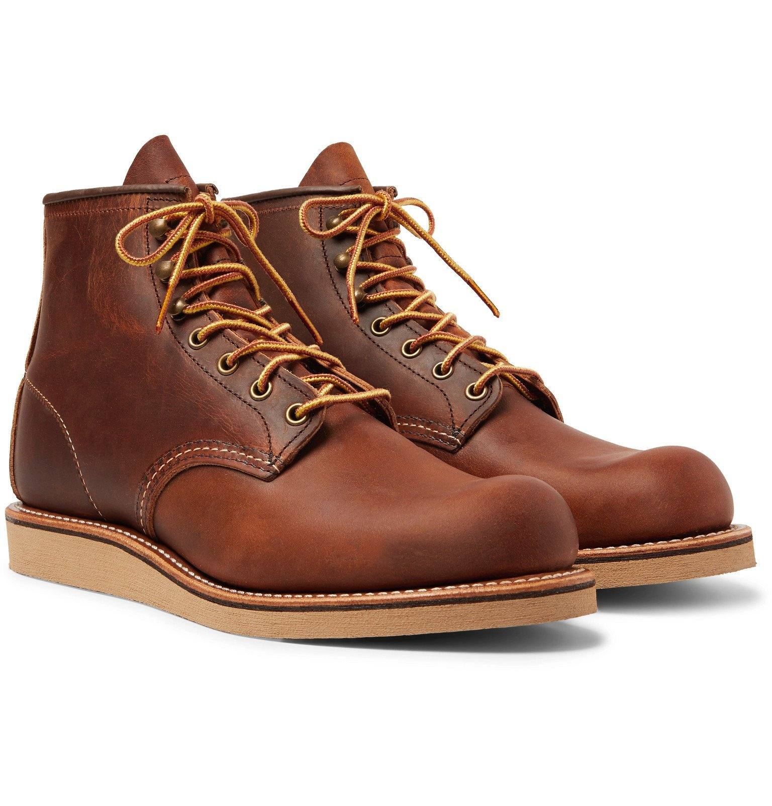 Photo: Red Wing Shoes - 2952 Rover Burnished Leather Boots - Brown