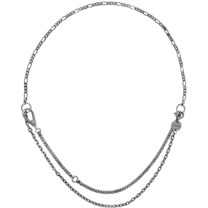 Photo: Chin Teo Silver Legion Nexus Knight Necklace