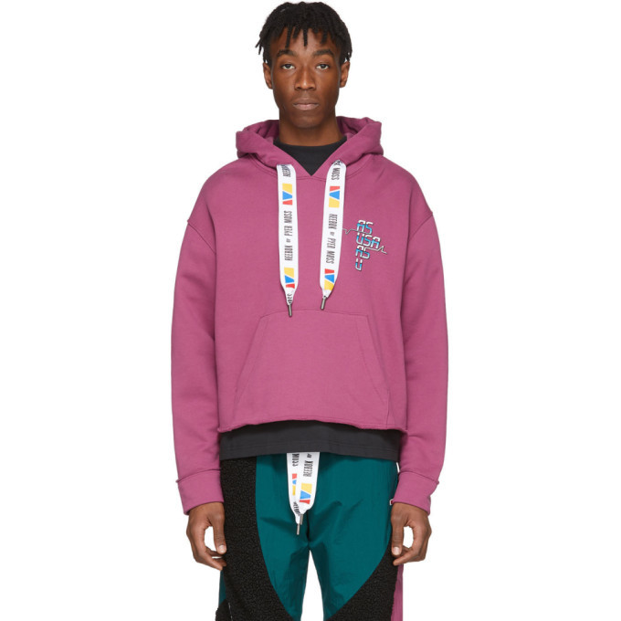 Photo: Reebok by Pyer Moss Purple Collection 3 Franchise Hoodie