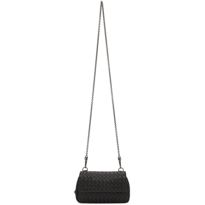 Bottega Veneta Black Mini Disco Bag