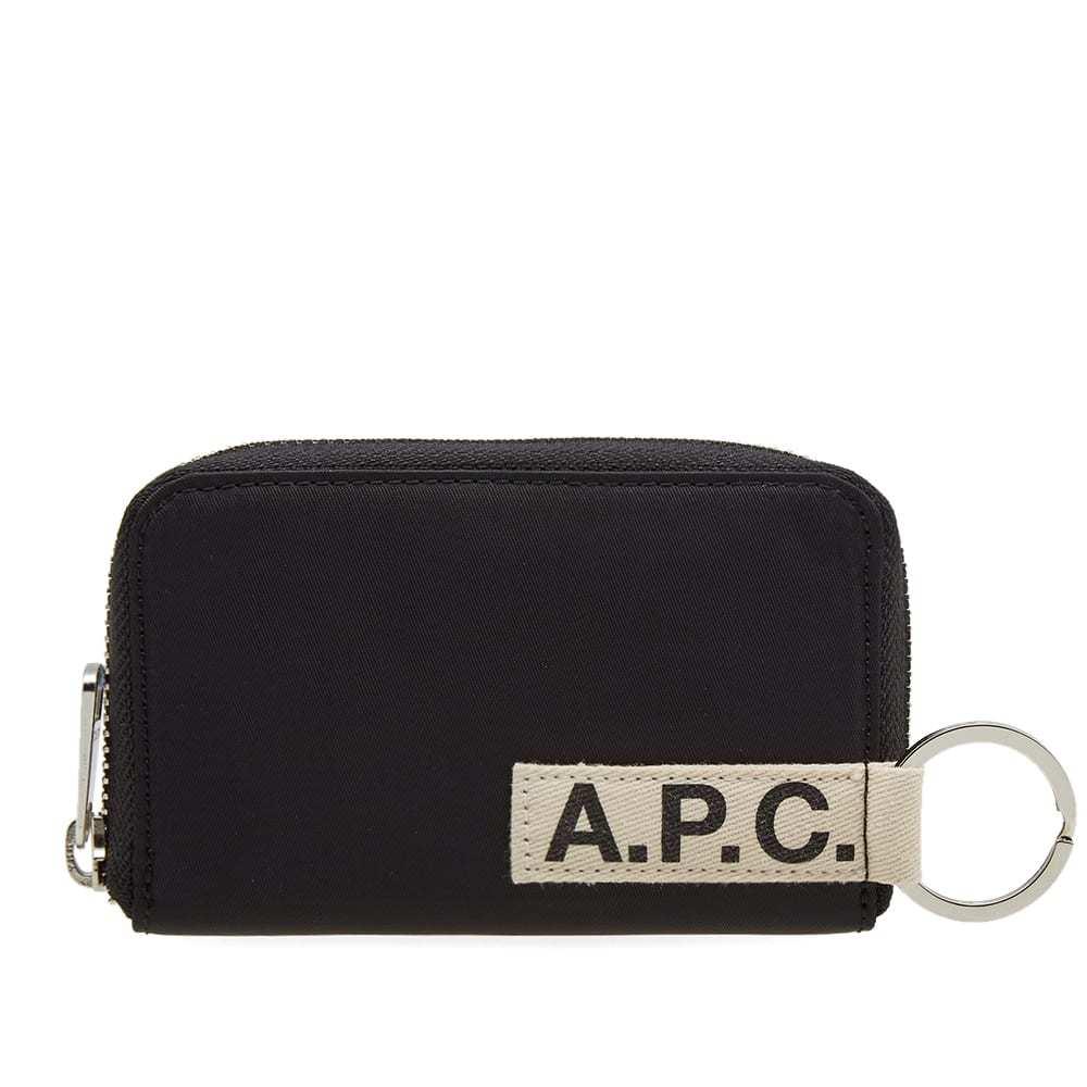 Photo: A.P.C. Godot Nylon Tape Zip Logo Wallet