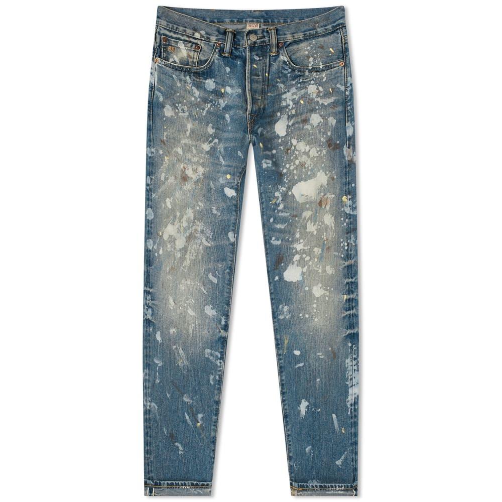 Photo: RRL Slim Fit Paint Splatter Jean