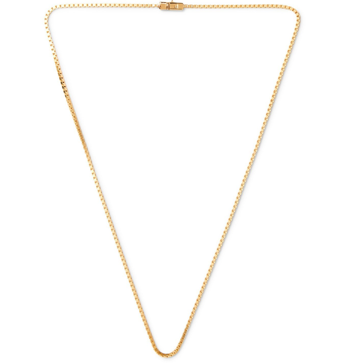 Photo: Tom Wood - Gold-Plated Chain Necklace - Gold