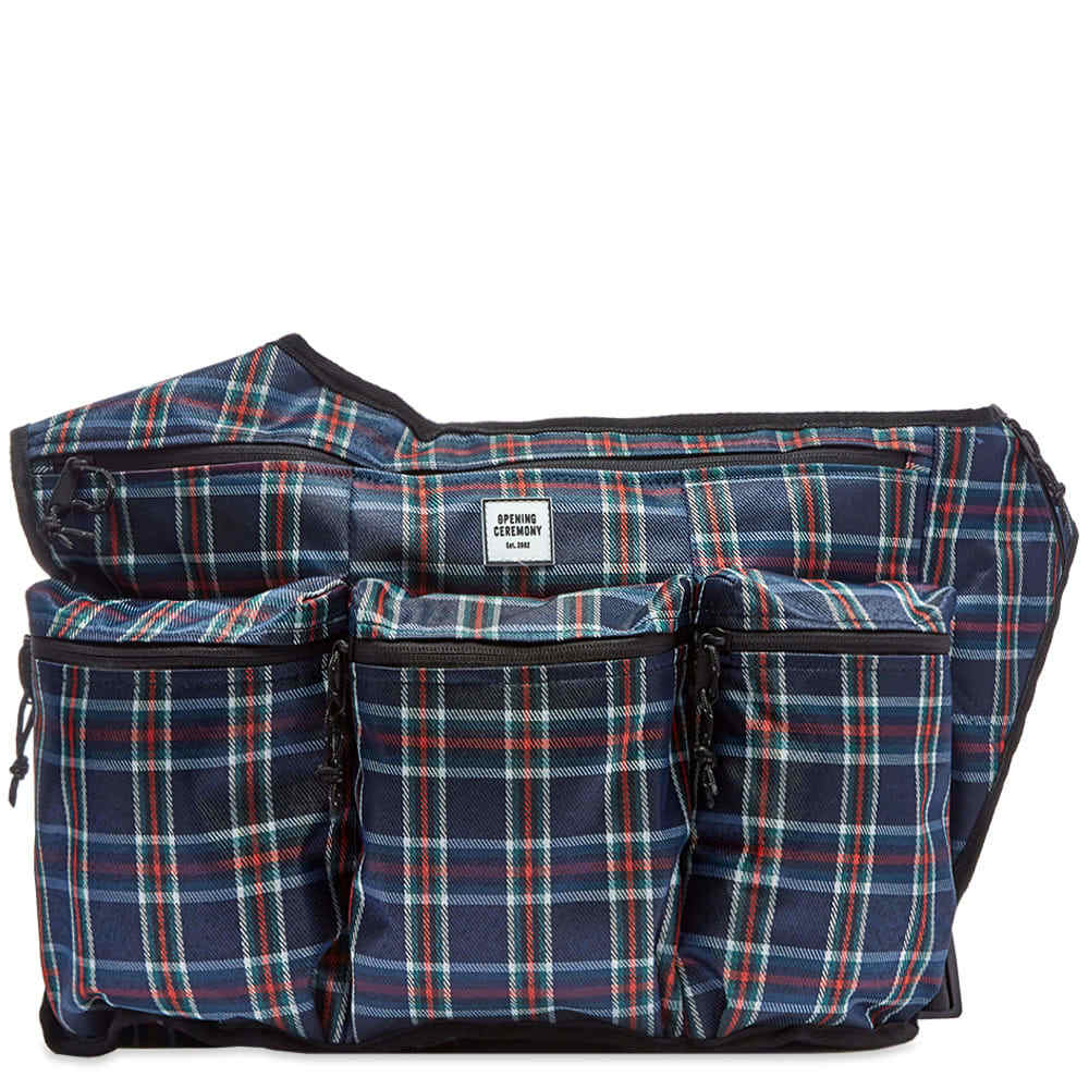 Photo: Opening Ceremony Plaid Sling Backpack