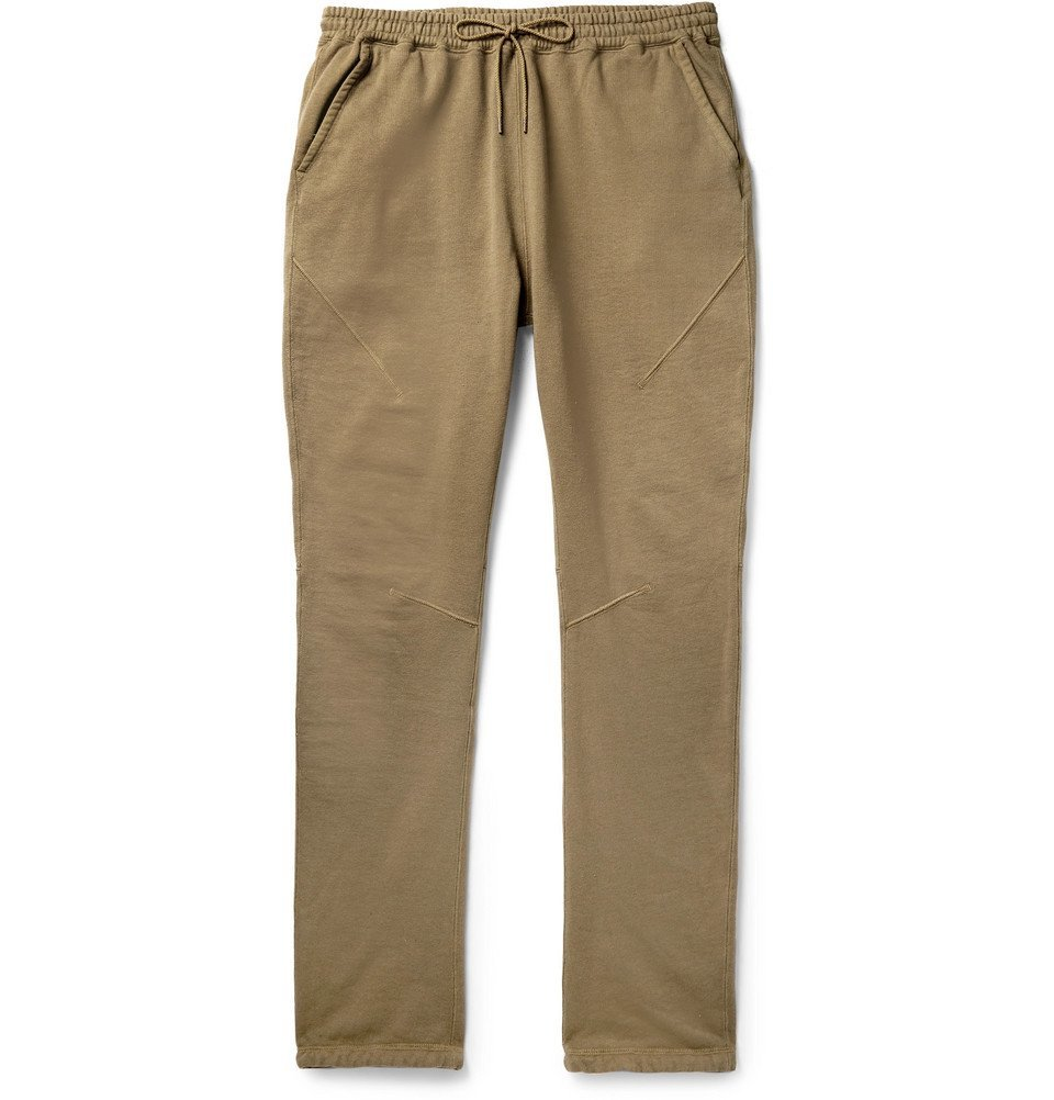 Photo: nonnative - Alpinist Garment-Dyed Loopback Cotton-Jersey Sweatpants - Beige