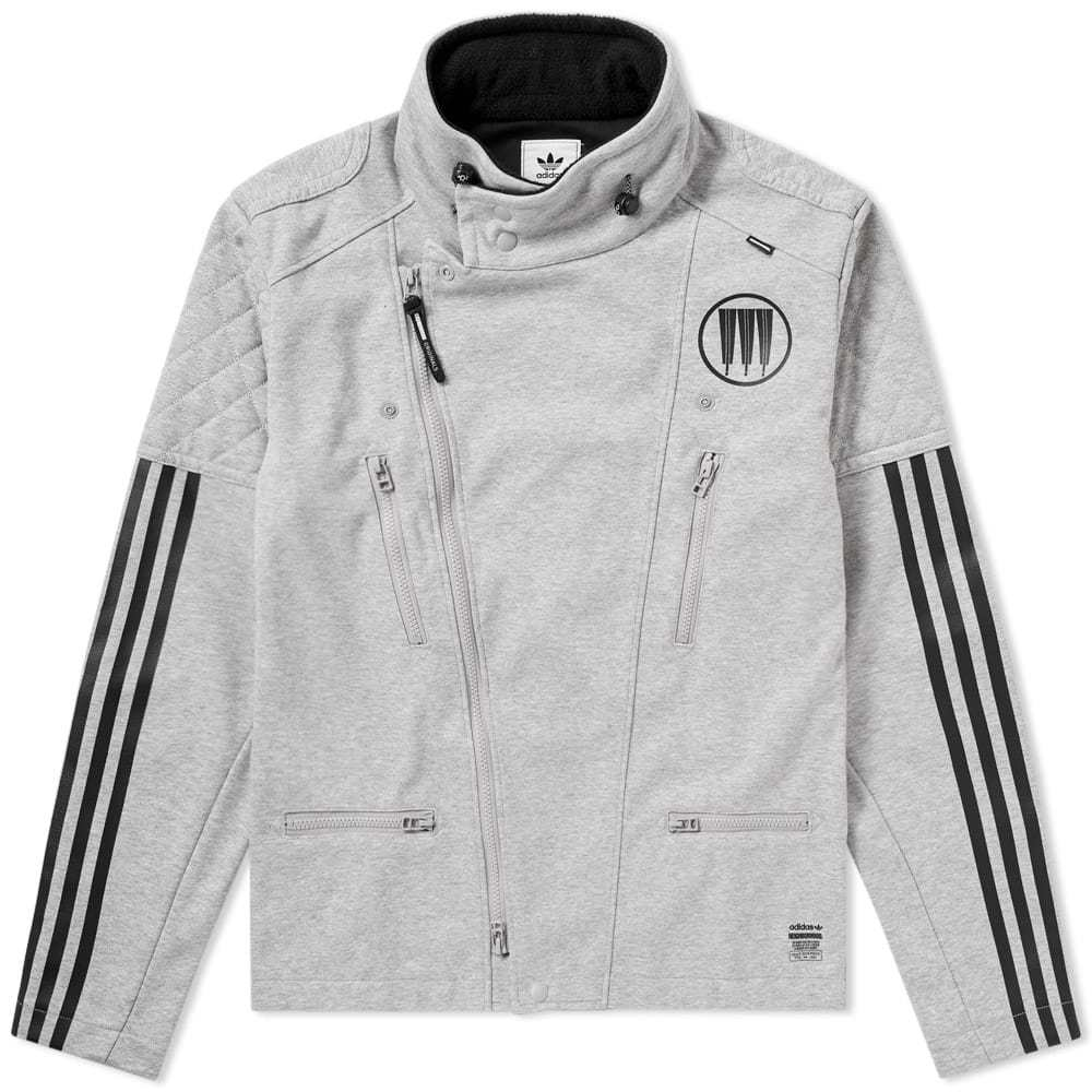 Adidas x NBHD Riders Track Jacket Grey