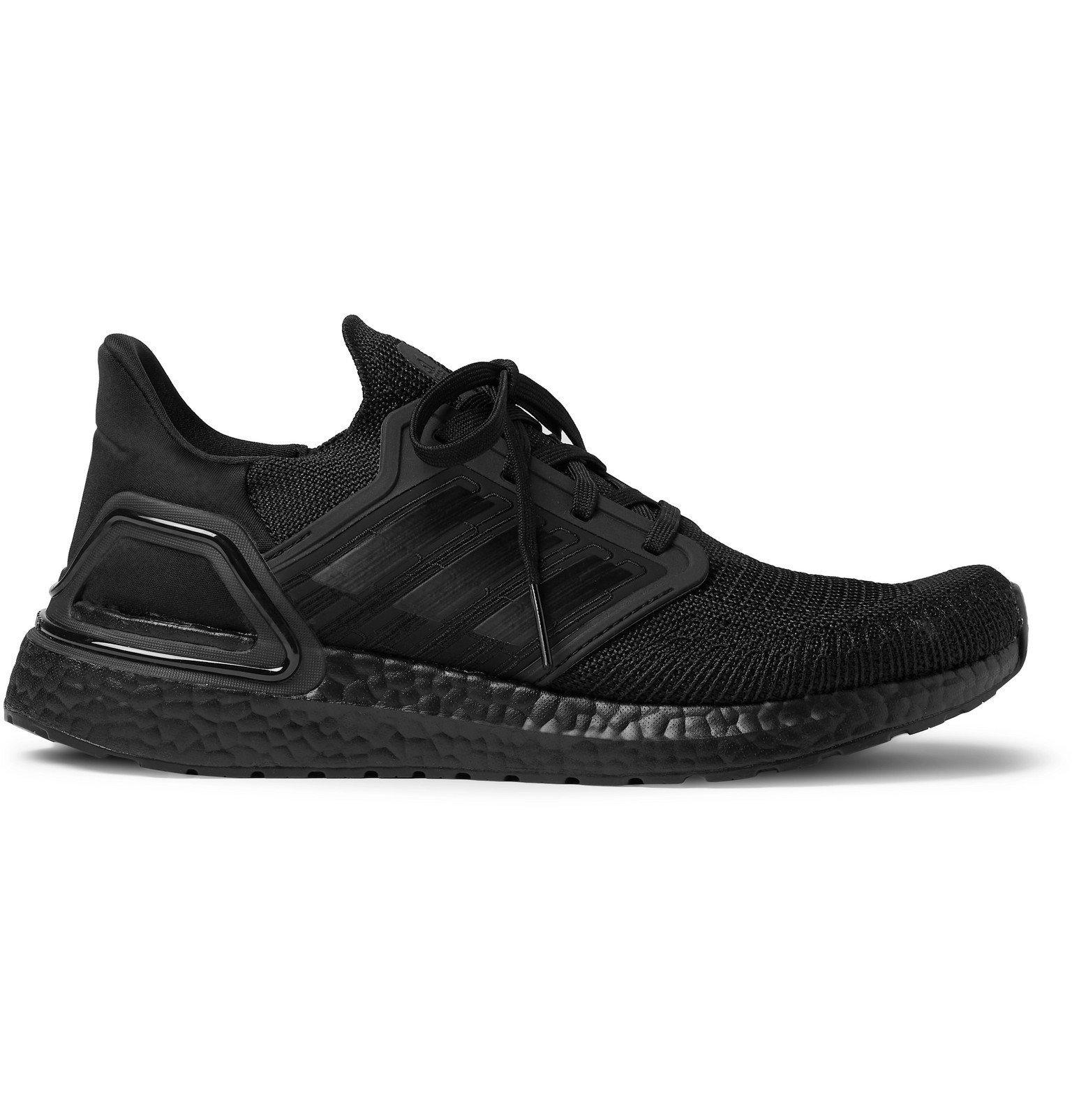 Photo: Adidas Sport - UltraBOOST 20 Rubber-Trimmed Primeknit Running Sneakers - Black