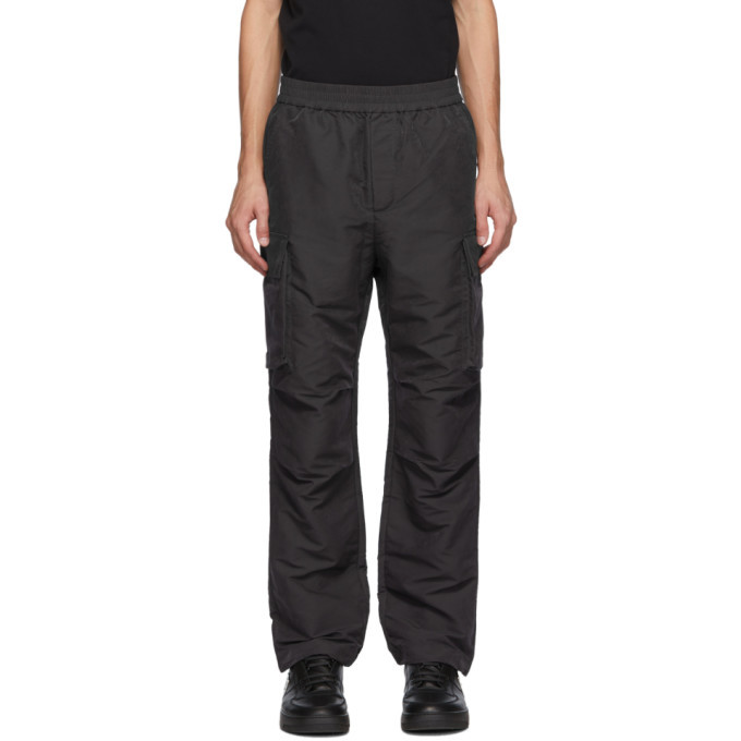 Photo: Wood Wood Dark Grey Halsey Cargo Pants