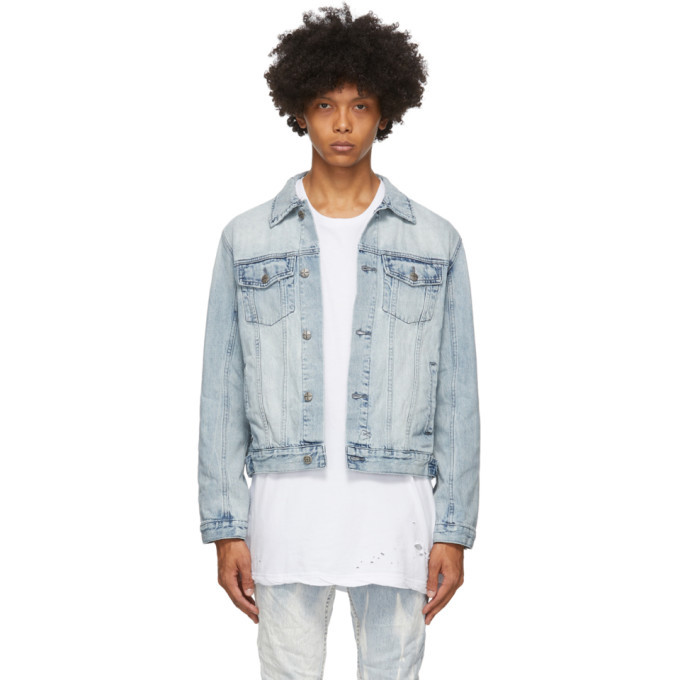 Photo: Ksubi Blue Classic Denim Jacket