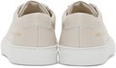 Common Projects Off-White Achilles Low White Sole Sneakers