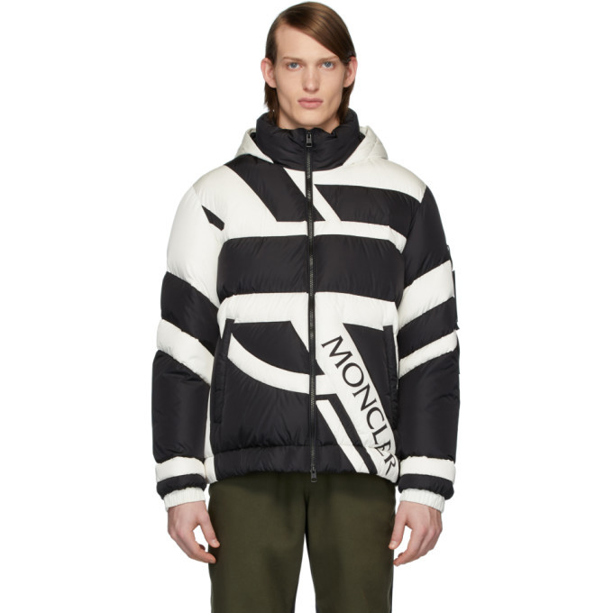 Photo: Moncler Genius 5 Moncler Craig Green Black and White Down Plungery Jacket